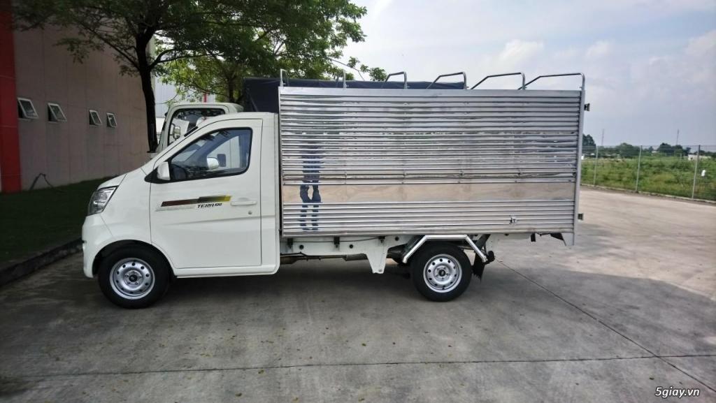 Bán xe tải nhỏ máy xăng Tera100 thùng mui bạt giá siêu rẻ - 4