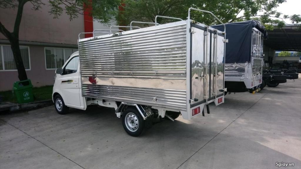 Bán xe tải nhỏ máy xăng Tera100 thùng mui bạt giá siêu rẻ - 1