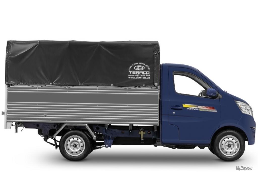 Bán xe tải nhỏ máy xăng Tera100 thùng mui bạt giá siêu rẻ