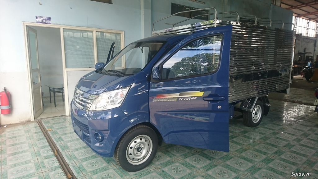 Bán xe tải nhỏ máy xăng Tera100 thùng mui bạt giá siêu rẻ - 2