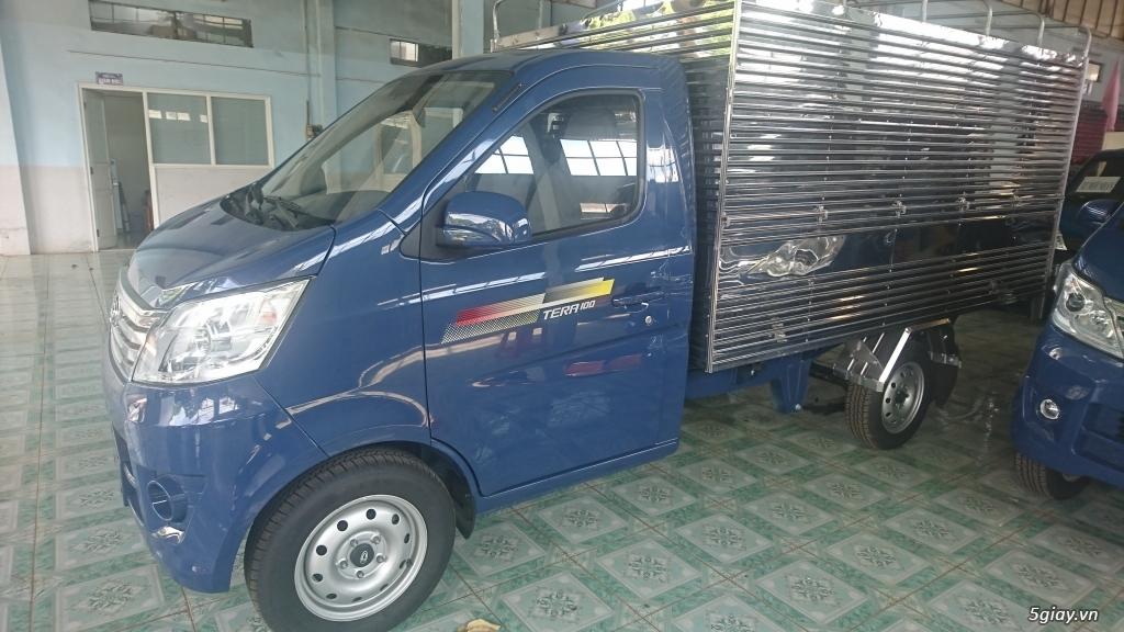 Bán xe tải nhỏ máy xăng Tera100 thùng mui bạt giá siêu rẻ - 3