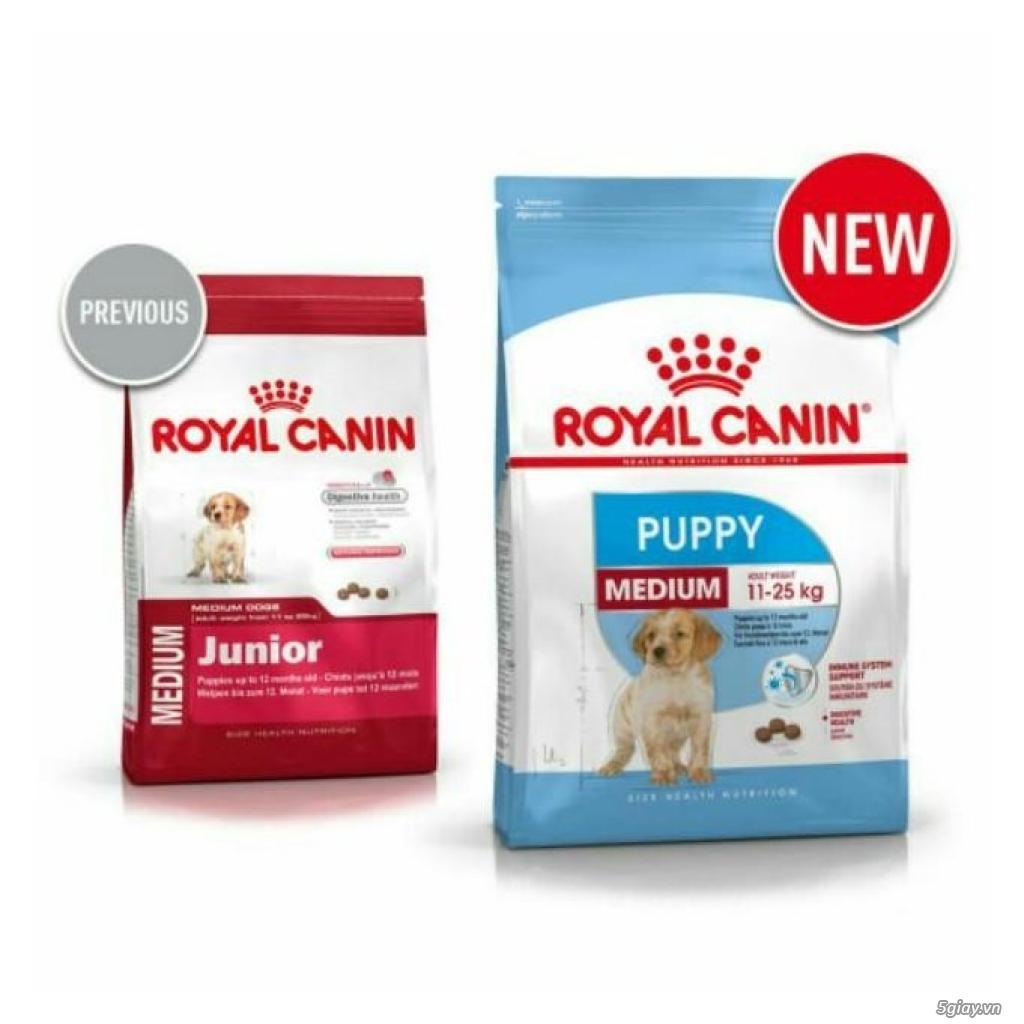 Thức Ăn Royal Canin Medium Puppy dành cho chó giống vừa dưới 12 tháng