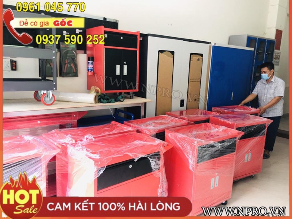 Tủ đựng đồ nghề 3 ngăn bề mặt sơn tĩnh điện giá tốt