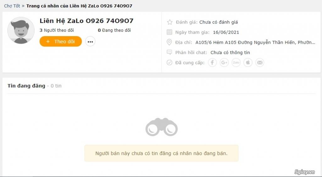 Lừa đảo bán điện thoại Ship COD Anh em cảnh giác 0926740907;