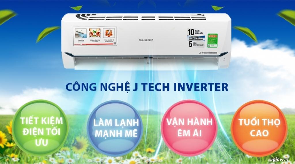 Máy lạnh Sharp Inverter 1 HP Chỉ 6tr8 - 1