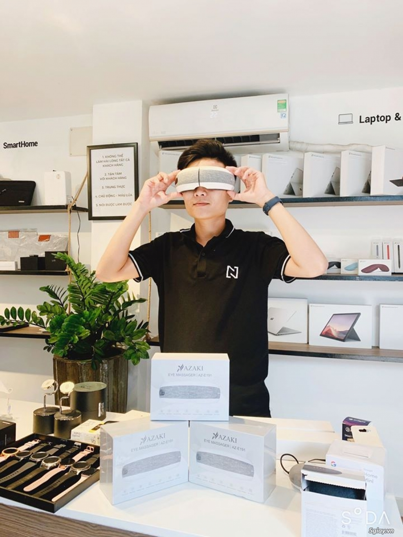 Máy massage mắt Asaki (Nhật) Newseal giúp mắt thư giãn