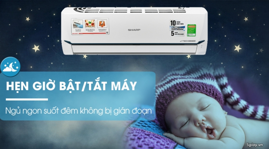 Máy lạnh Sharp Inverter 1 HP Chỉ 6tr8 - 4