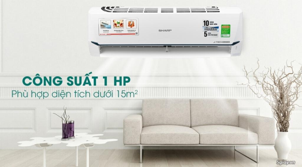 Máy lạnh Sharp Inverter 1 HP Chỉ 6tr8
