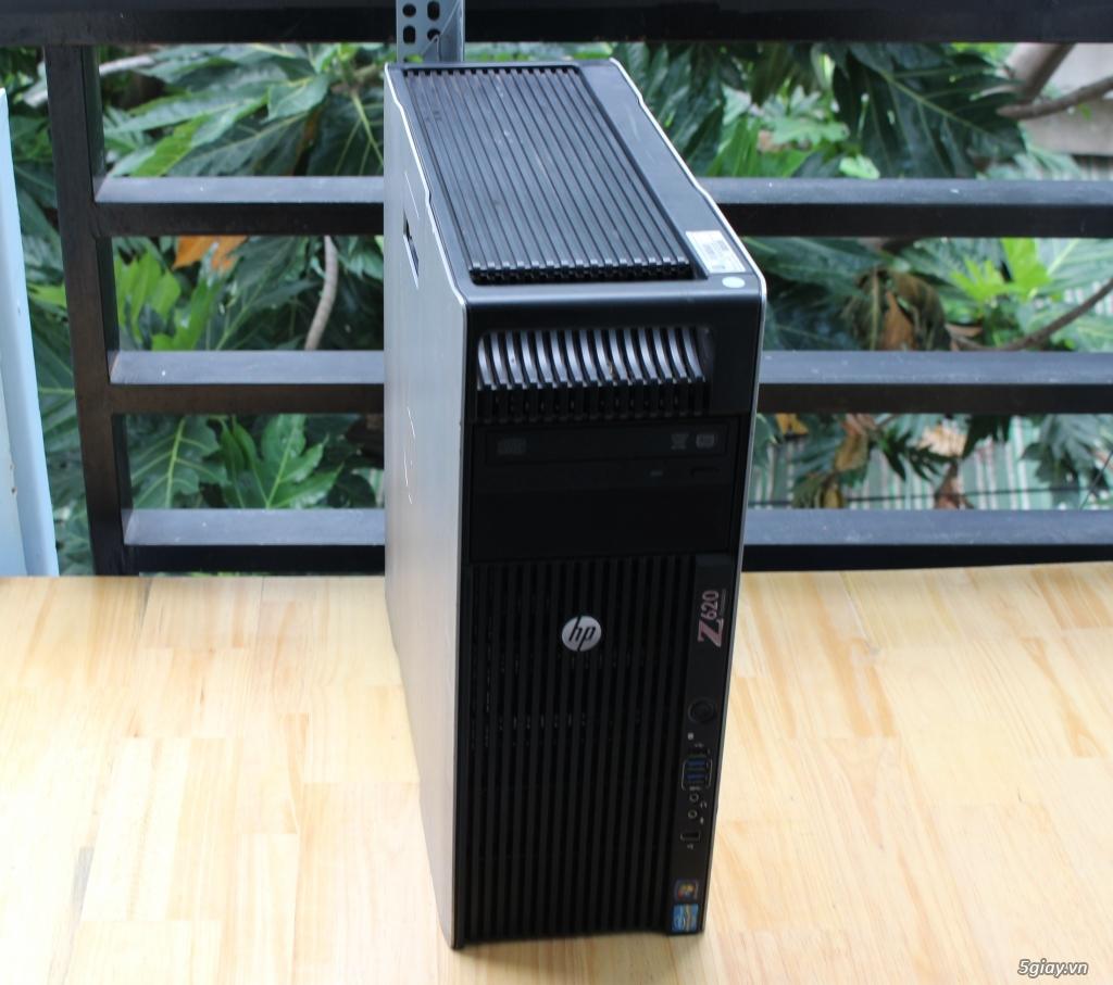 Máy trạm HP Z620 2 CPU siêu bền bỉ !