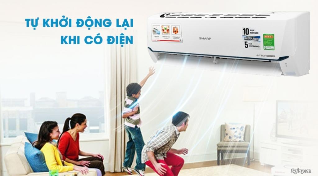 Máy lạnh Sharp Inverter 1 HP Chỉ 6tr8 - 5
