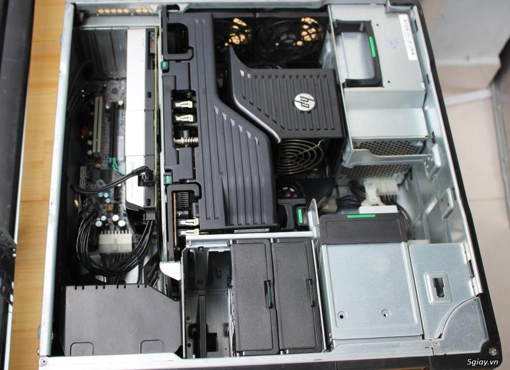 Máy trạm HP Z620 2 CPU siêu bền bỉ ! - 1