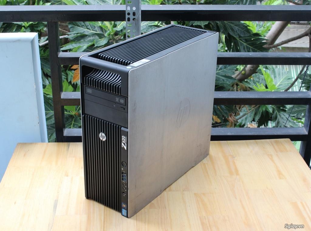 Máy trạm HP Z620 2 CPU siêu bền bỉ ! - 3