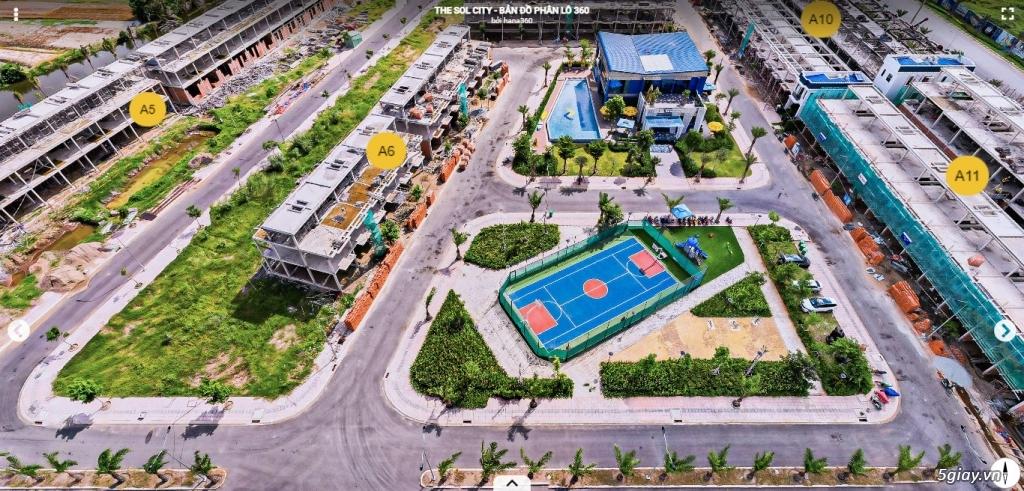 Chuyển nhượng lô đất 100m2, mặt tiền đường 22m, liền kề chợ Hưng Long