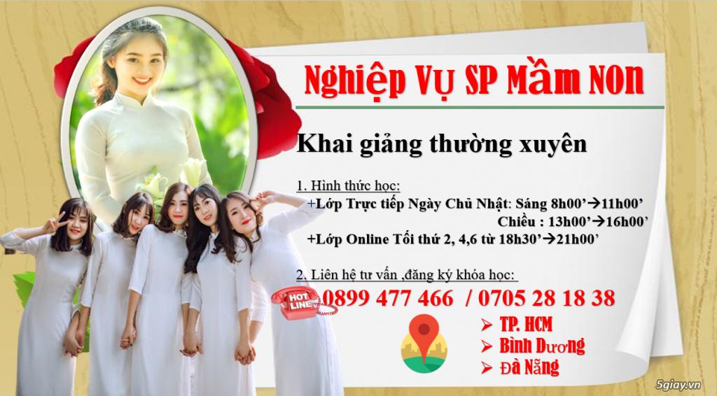 Chiêu Sinh Khóa Học NGhiệp Vụ Sư Phạm Mầm Non - 31