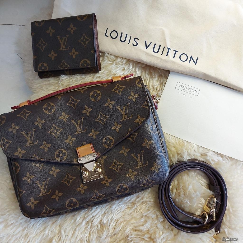 Túi xách Mentis chính hãng Louis Vuitton 100%AUTHENTIC_BAO AU TRỌN ĐỜI - 1