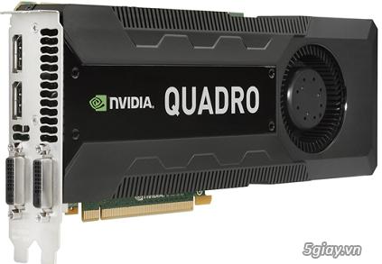 - VGA Nvidia Quadro M4000 8Gb/256bit chuyên cho render, đồ họa... - 2