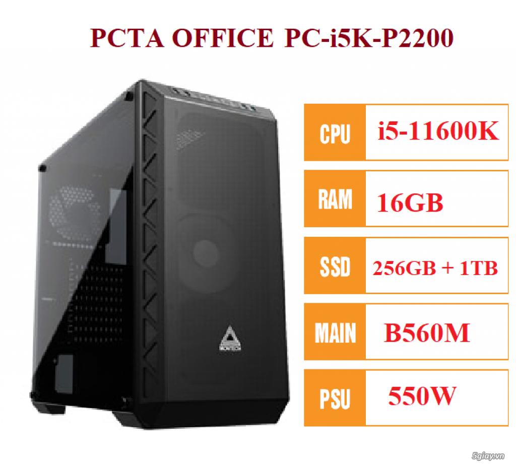 PC văn phòng PC-i5K-P2200 Intel Core i5-11600K - Ram 16GB - 1