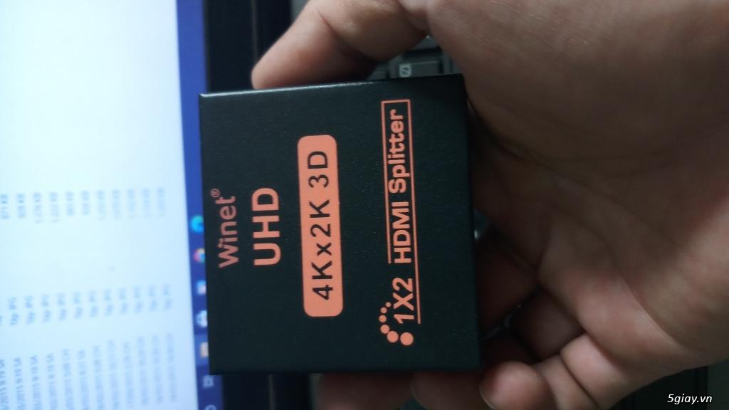 thanh lý swict 24 port tp link và cục chuyển HDMI qua Lan 100 mét - 8