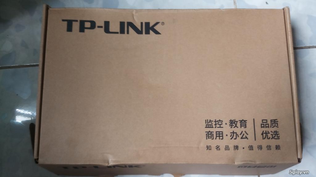 thanh lý swict 24 port tp link và cục chuyển HDMI qua Lan 100 mét - 1