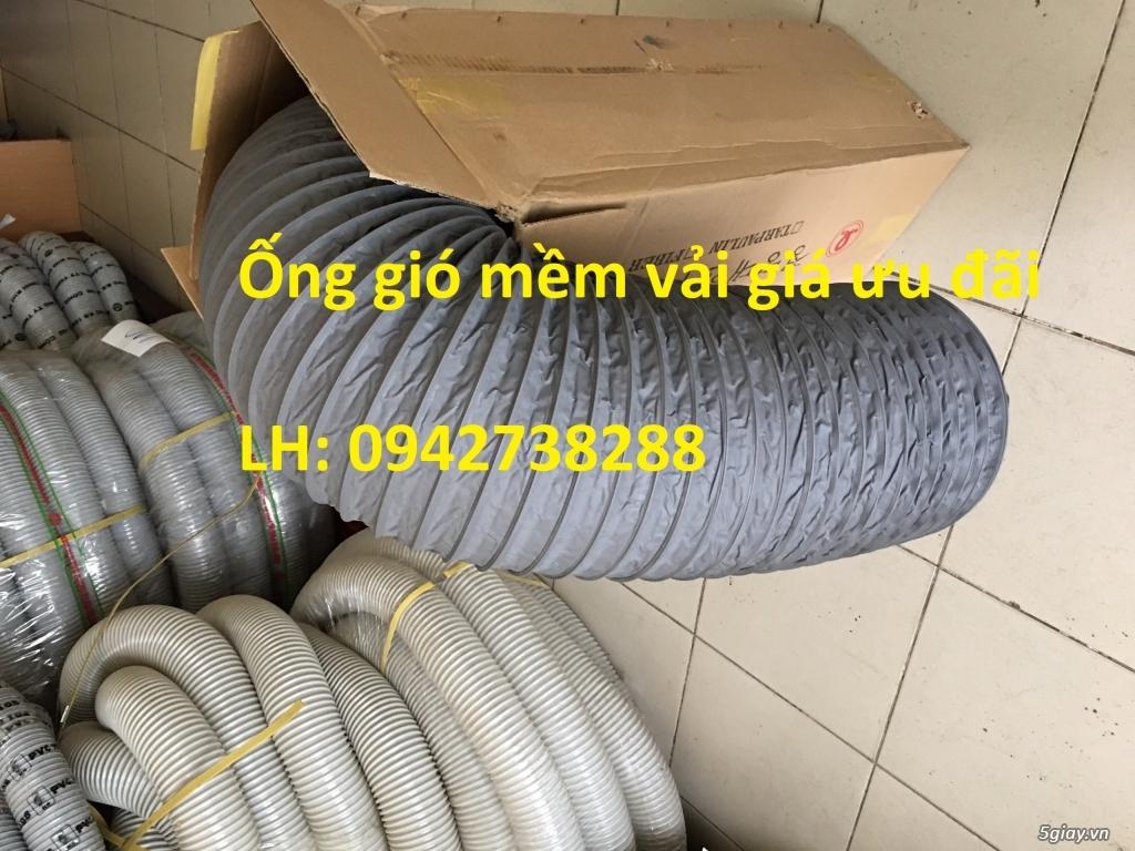 Nơi bán ống gió mềm vải Tarpaulin phi 150 hàng có sẵn - 4