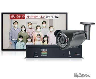 SURE CCTV   Thermal-T36.5-Coax  camera đo thân nhiệt