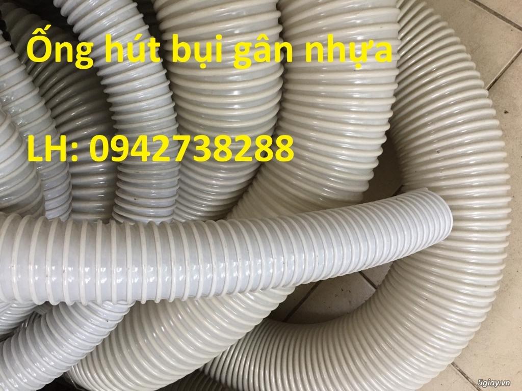 Nơi bán ống hút bụi gân nhựa phi 150 hàng có sẵn - 1