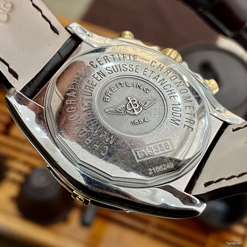 Breitling Chrono Galactic 18k Gold/Steel - 5
