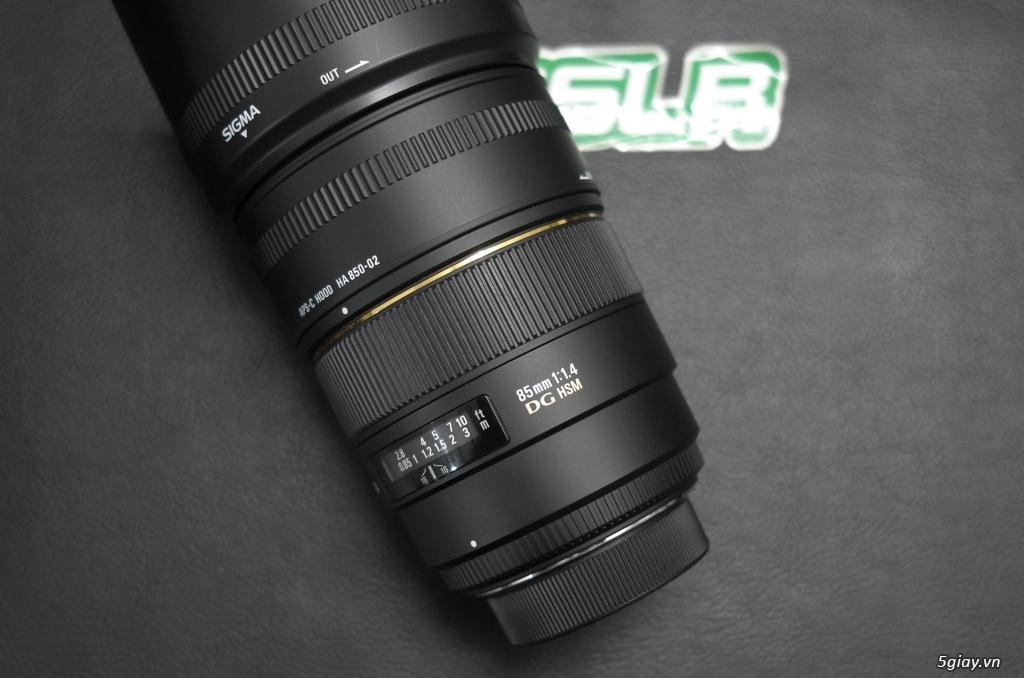 Nikon AF-S 85F1.8 G // Sigma 85F1.4 DG HSM for nikon - 8