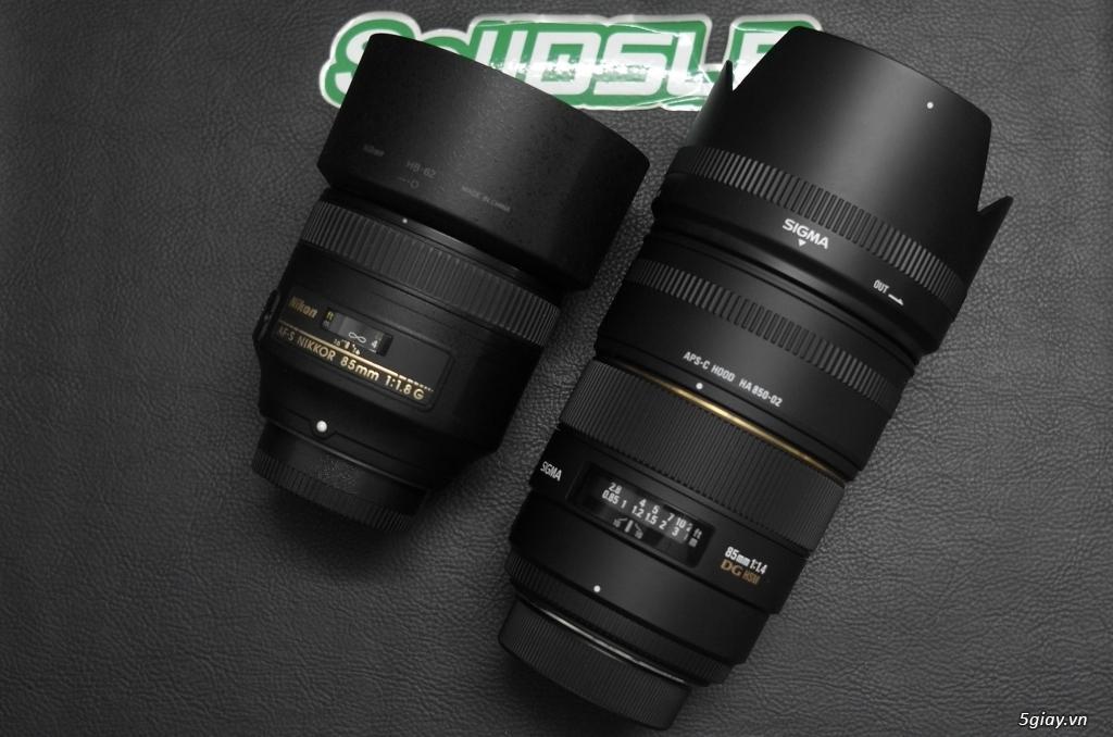Nikon AF-S 85F1.8 G // Sigma 85F1.4 DG HSM for nikon