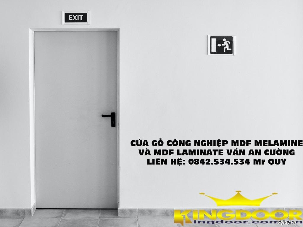 báo giá cửa gỗ mdf ván an cường phủ MELAMINE | LAMINATE