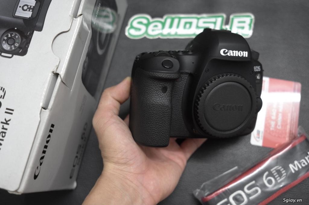 Body Canon 6D Mark ii (6D2) mới 99,9% 700 shot bh hãng 9/2021 - 6