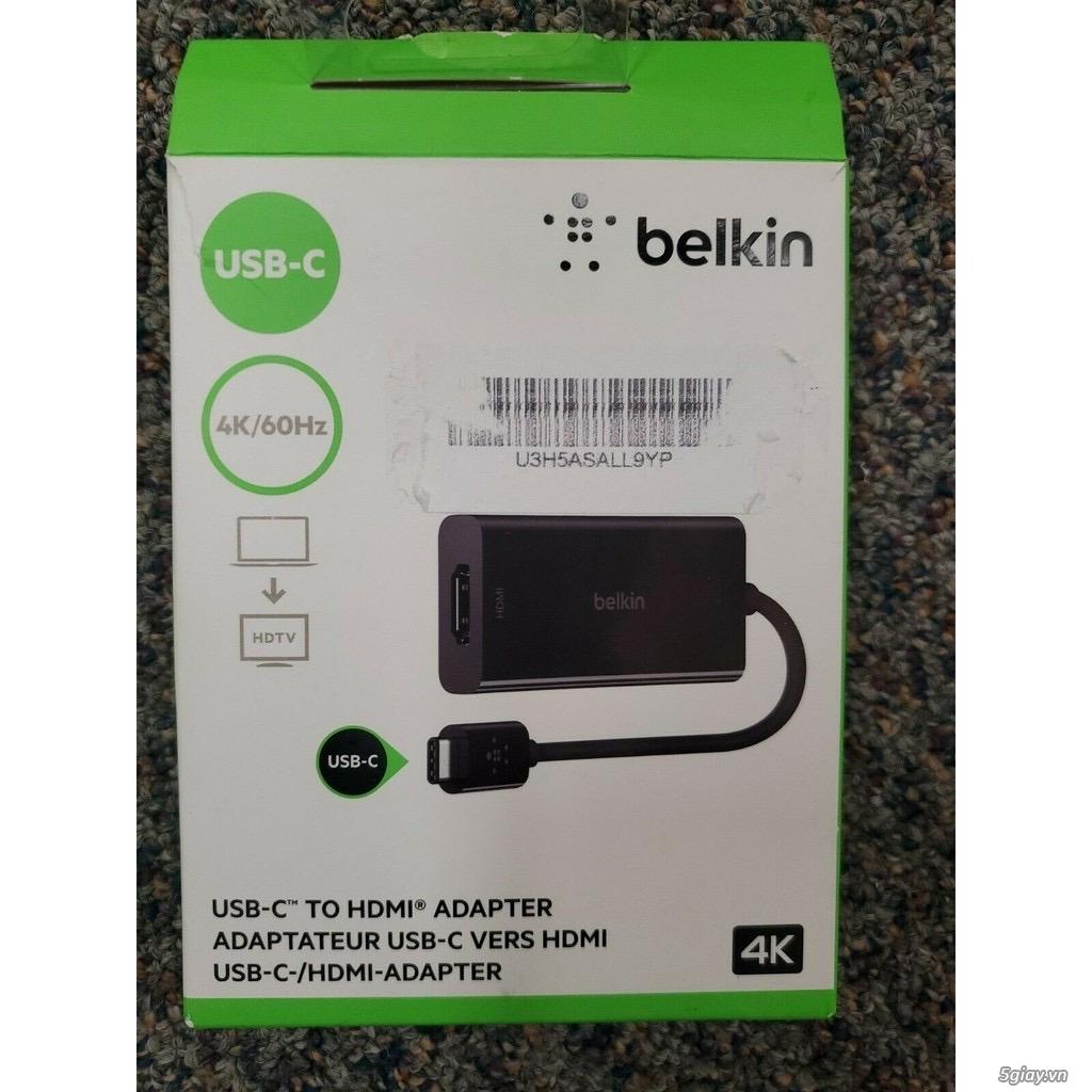 Chuyên các loại cáp sạc, kết nối chính hãng Apple, Belkin, Dell, HP - 2
