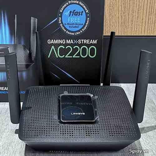 Bộ phát wifi Linksys EA7500 v2 AC1900mb max-stream mu-mimo hàng USA rẻ - 4