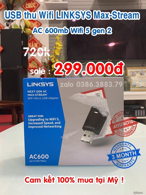 Bộ phát wifi Linksys EA7500 v2 AC1900mb max-stream mu-mimo hàng USA rẻ - 5