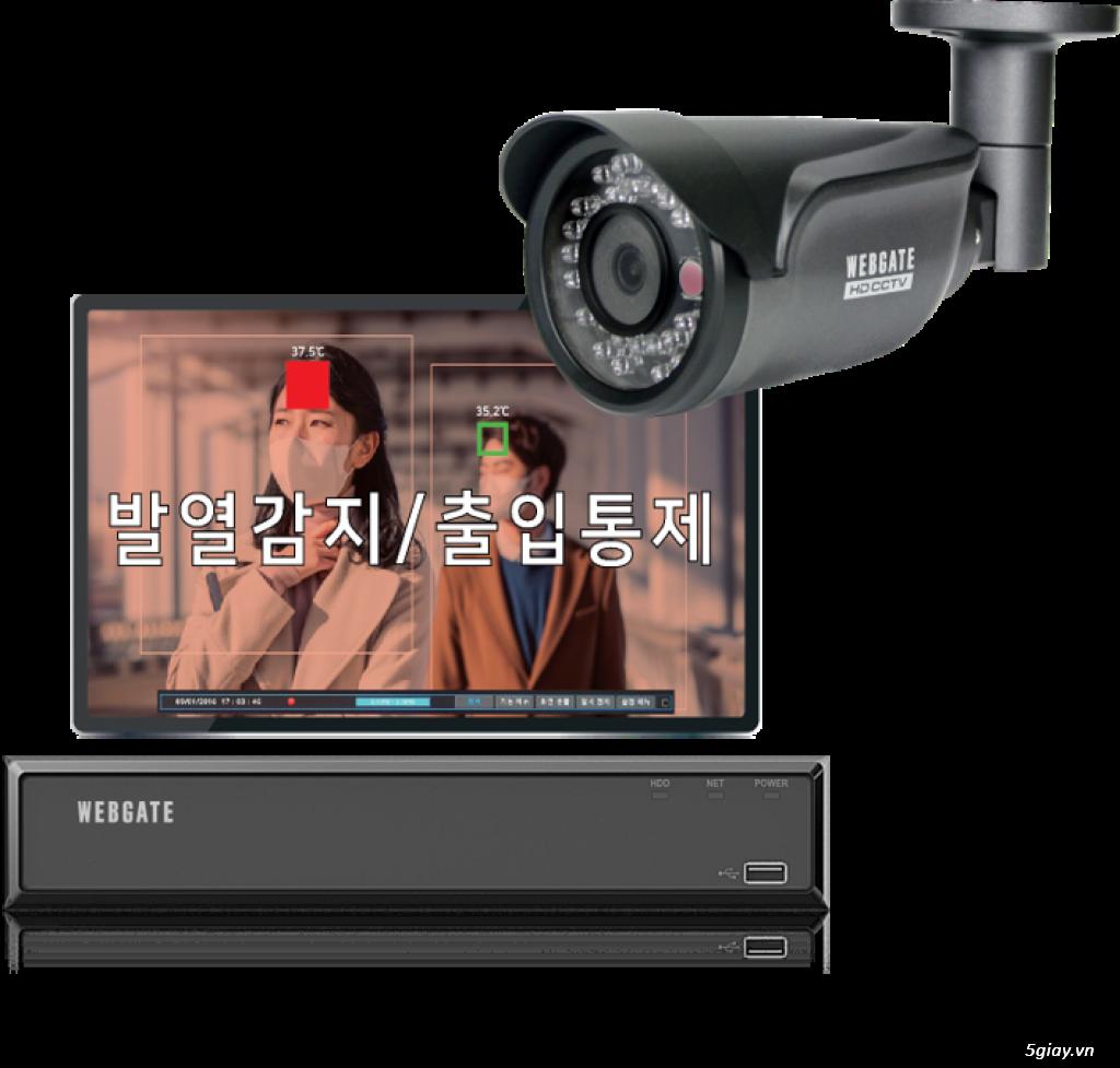 SURE CCTV Thermal-T36.5-Coax Hỗ trợ phát hiện nhiệt từ 30°C đến 40°C