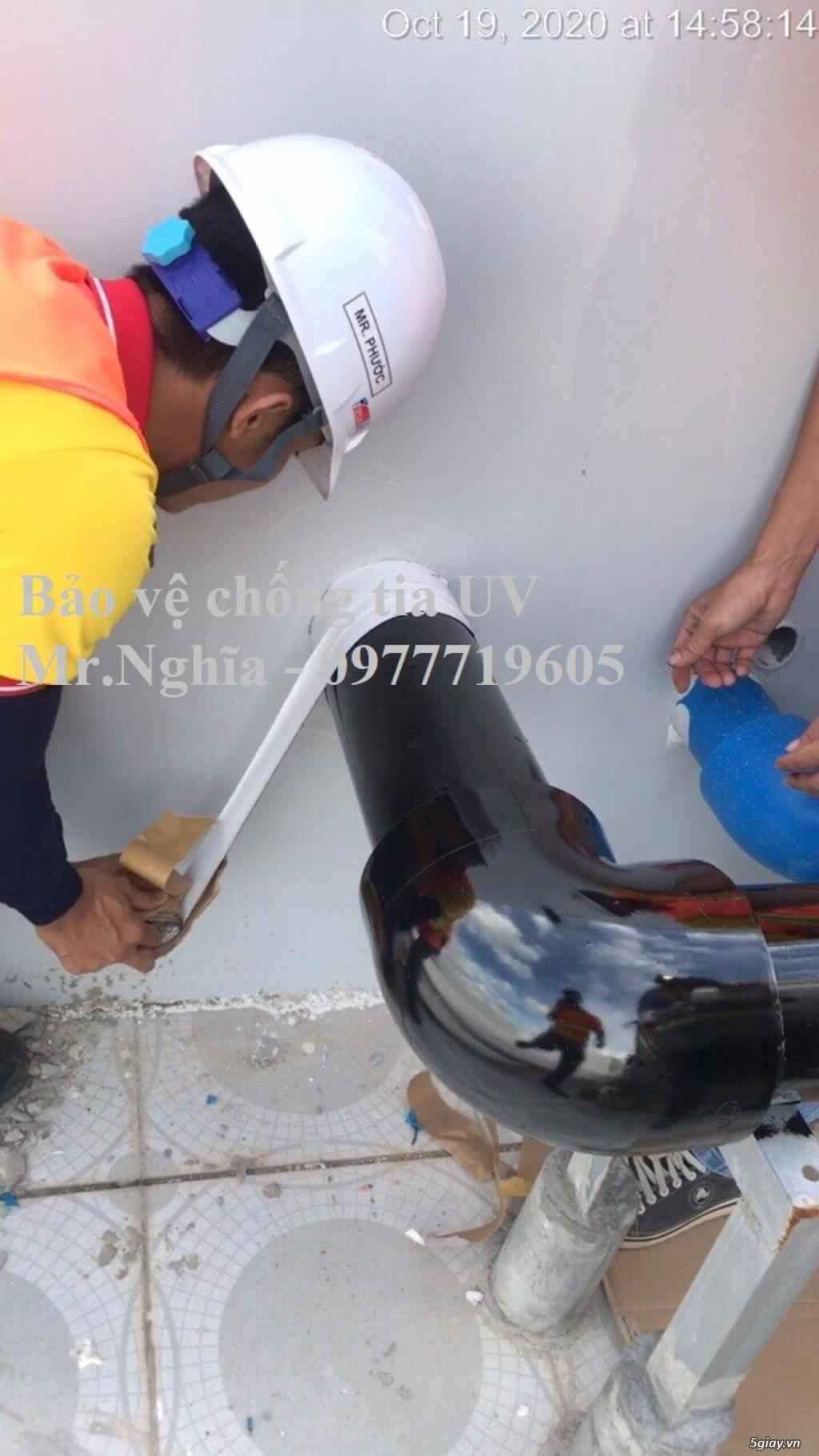 Premseal băng dán chống tia UV bảo vệ ống PPR, uPVC, HDPE - 3