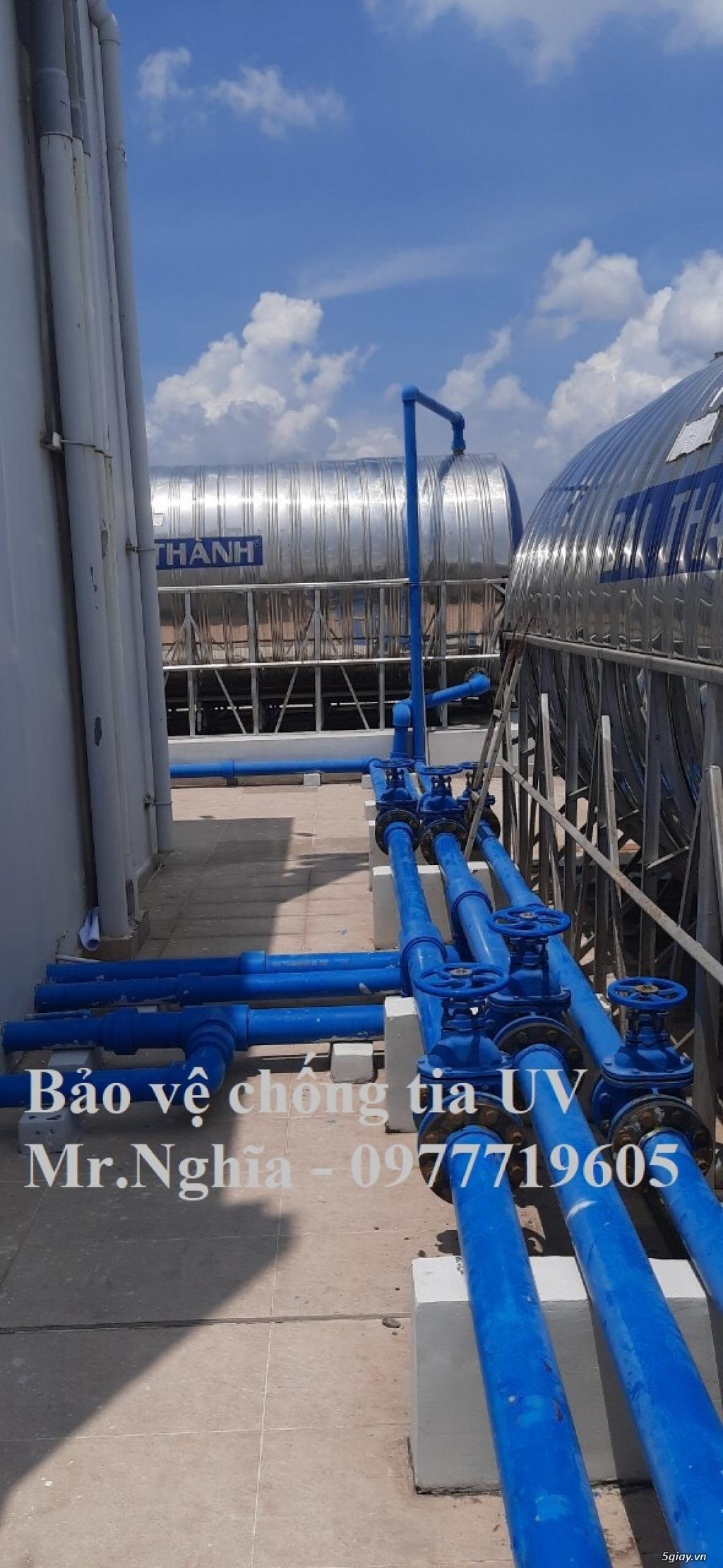 Premseal băng dán chống tia UV bảo vệ ống PPR, uPVC, HDPE - 4