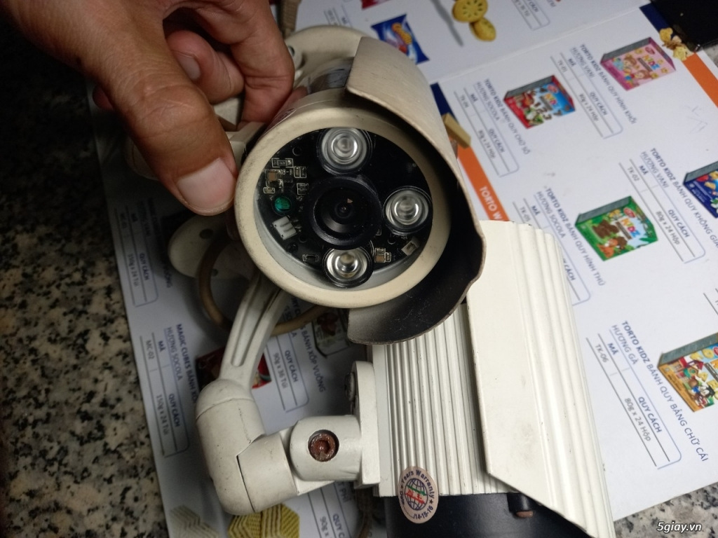 Thanh lý camera hệ thống AHD - 2