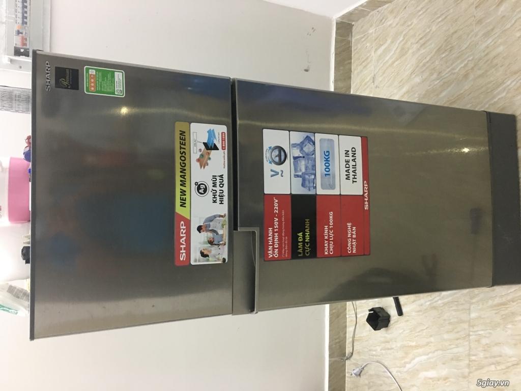 Sửa tủ lạnh sharp chung cư hoàng quân nha trang