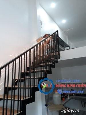 Cầu thang sắt tại hcm - 1