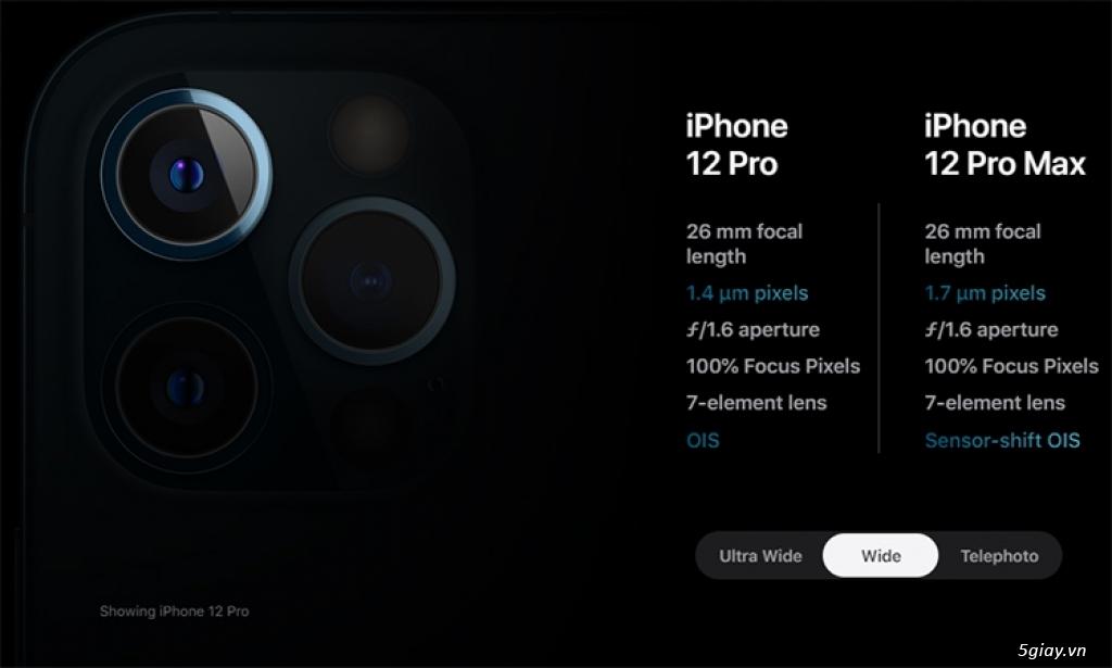 điện thoại iPhone 12 Pro Max 128GB  siêu khuyến mãi mùa covid
