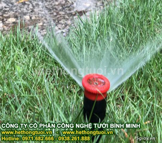 Thiết kế hệ thống tưới cỏ, béc phun nước tưới cỏ, béc phun nước tưới - 2