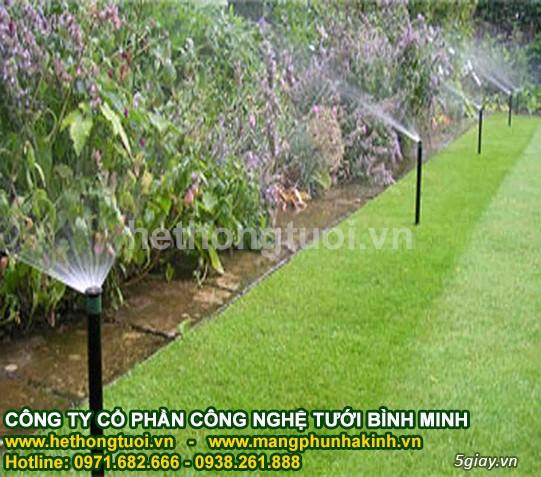 Thiết kế hệ thống tưới cỏ, béc phun nước tưới cỏ, béc phun nước tưới - 1