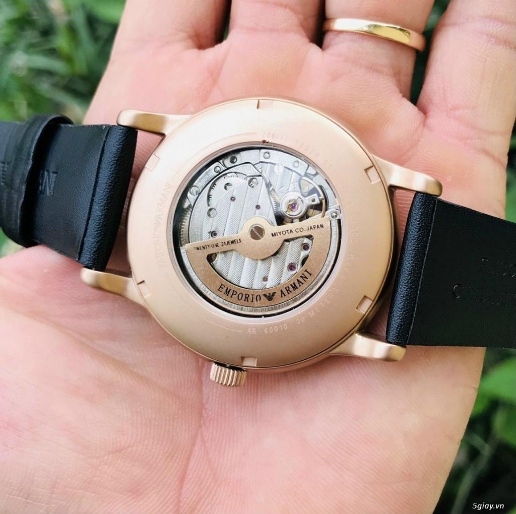 Đồng hồ Armani automatic chính hãng Mỹ sản xuất nguyên zin 100% - 1