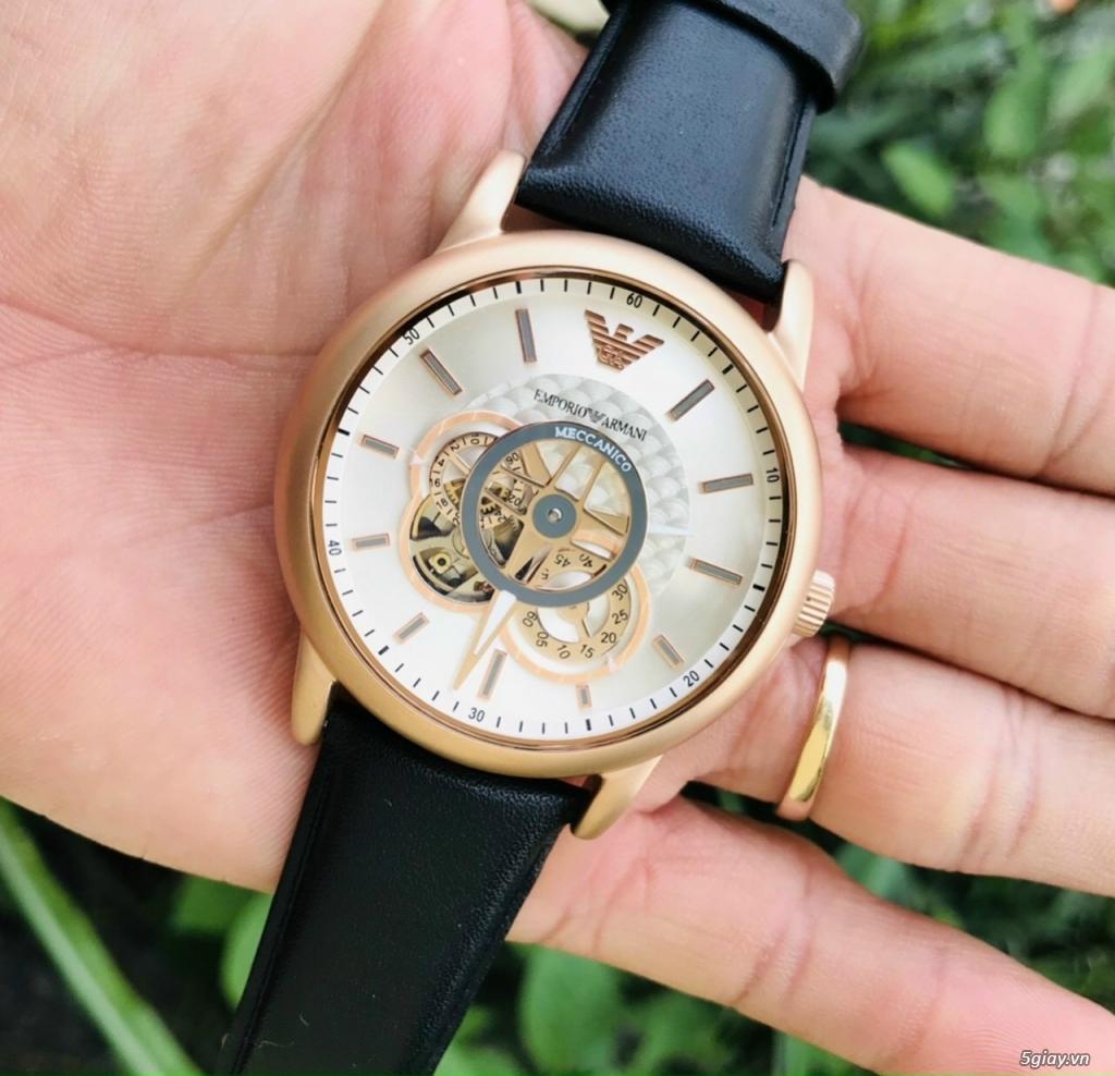 Đồng hồ Armani automatic chính hãng Mỹ sản xuất nguyên zin 100% - 3