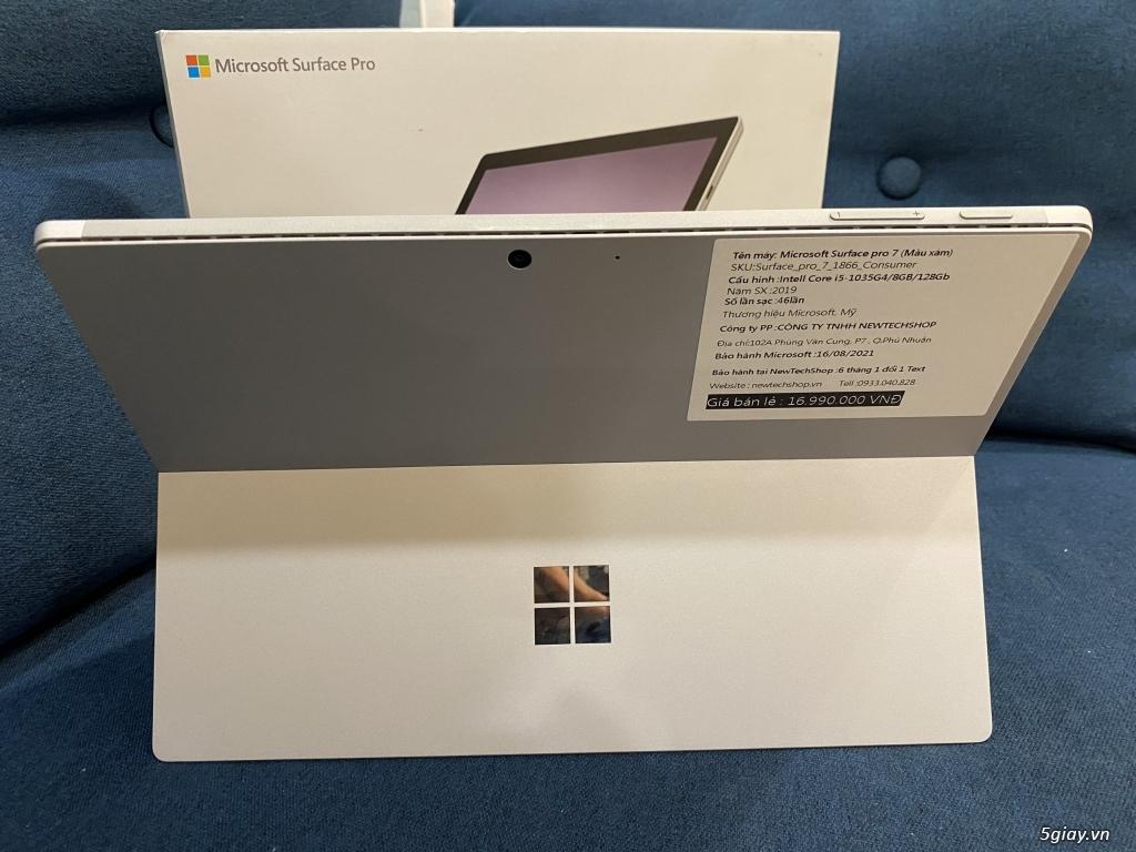 Surface Pro 7 I5/8GB/128GB LIKE NEW Full box + sạc (Sạc 19 lần) - 2
