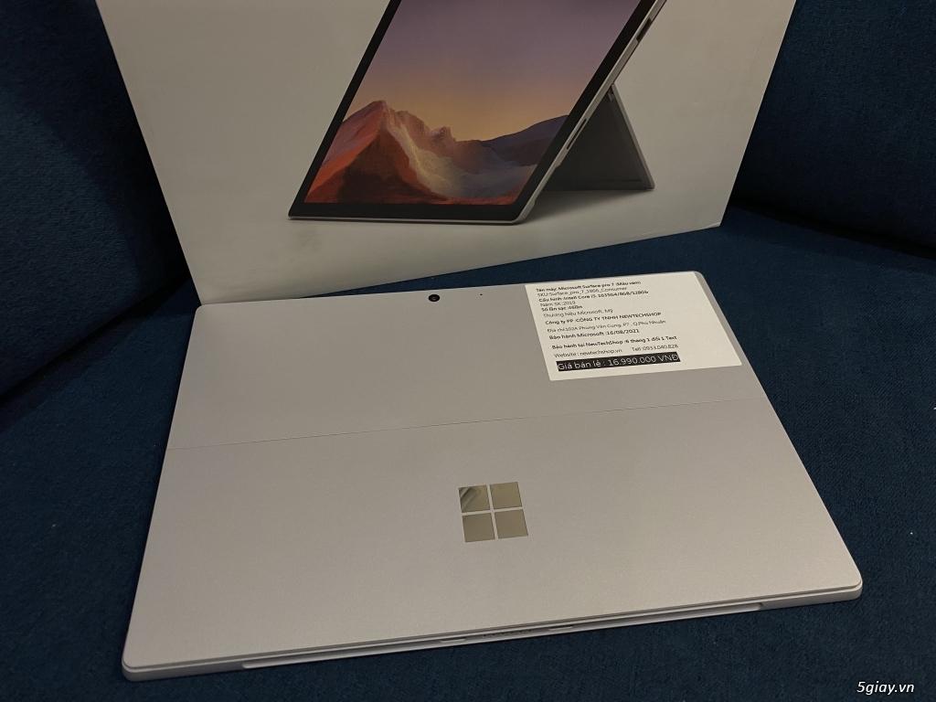 Surface Pro 7 I5/8GB/128GB LIKE NEW Full box + sạc (Sạc 19 lần)