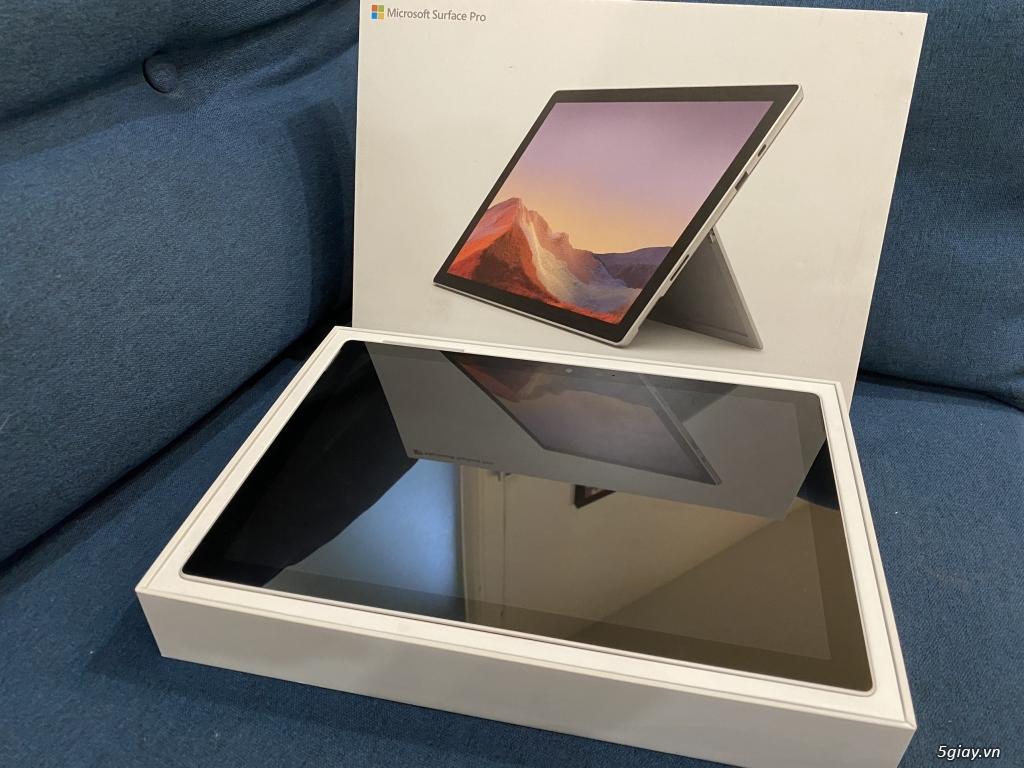 Surface Pro 7 I5/8GB/128GB LIKE NEW Full box + sạc (Sạc 19 lần) - 4