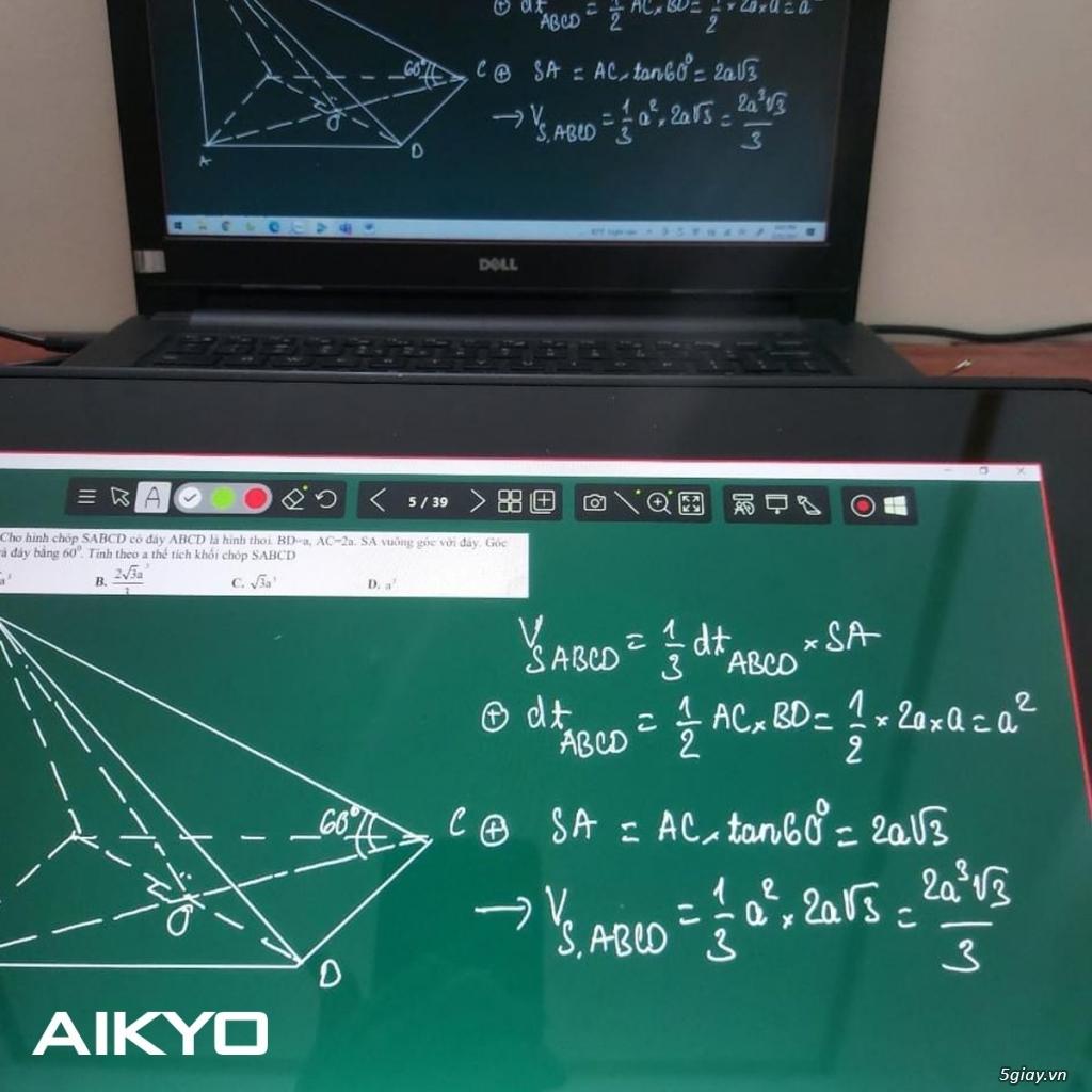 Bảng điện tử AIKYO cho dạy & học online - 2