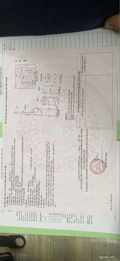 Cần bán nhà siêu vip Nguyễn Trãi Quận 5,TPHCM - 3